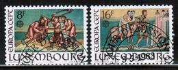 CEPT 1983 LU MI 1074-75 LUXEMBOURG USED - 1983