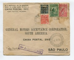 BRAZIL Air Mail CGA Aeropostale Cover 1931 090919 - Non Classés