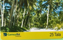 SAMOA  -  Prepaid  -  25 Tala - Samoa