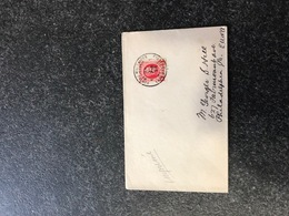 Belgium World War I WWI Letter Germany To Usa PHILADELPHIA 1923 Legerposterij SM Armee Belge - Armée Belge