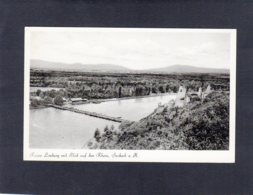 91407    Germania,   Ruine Limburg Mit  Blick Auf Dem Rhein,  Sasbach A. K.,  VG  1957 - Sasbach