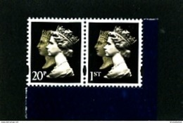 GREAT BRITAIN - 2009  TWO QUEENS  20p + 1st  LITHO  EX PRESTIGE BOOKLET  MINT NH - Machins