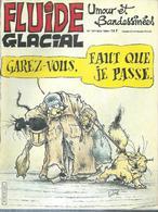 FLUIDE GLACIAL  N° 107   Couverture   LELONG - Fluide Glacial
