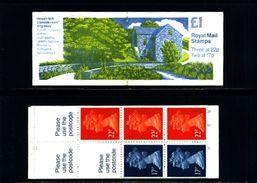 GREAT BRITAIN - 1991  £ 1  BOOKLET  MILLS  4  MINT NH  SG FH 22 - Libretti