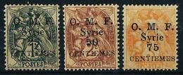 Siria (Francesa) Nº 45/7 Nuevo* - Unused Stamps
