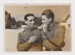 #59379 Vintage Orig Photo Handsome Guys Two Men Real Affectionate Gay Int. - Personnes Anonymes