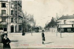 N°3547 T -cpa Le Raincy -avenue Thiers- - Le Raincy