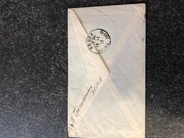 Belgium World War I WWI 1917 Letter To Joseph Cousin Armee Belge En Campagne Legerposterij SM Rouen - Armée Belge
