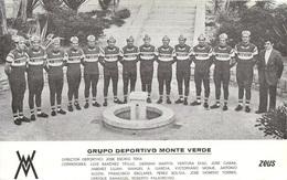 CARTE CYCLISME GROUPE TEAM TEAM MONTEVERDE 1974 - Cyclisme