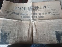 L AMI DU PEUPLE/VENDEE INHUMATION CLEMENCEAU - Informations Générales