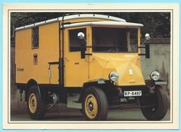 0572 - POST - TRANSPORT - PAKETZUSTELLWAGEN HANSA-LLOYD 1928 - Post