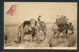 ASIE - INDE - Retour De Chasse - Eléphants - India