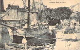 13 BOUCHES Du RHONE Bateau De Pêcheurs Amarré Quai St Pierre à CASSIS - Cassis