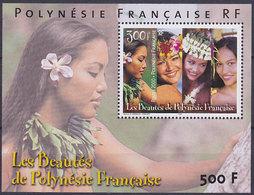 Bloc Feuillet Neuf ** N° 25(Yvert) Polynésie 2000 - Les Beautés De Polynésie Française - Blocks & Kleinbögen
