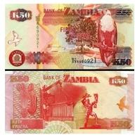 Billet Zambie 50 Kwatcha - Zambie