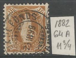 Switzerland 1882 Year , Used Stamp Mi # 64 A - Gebruikt