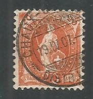 Switzerland 1905 Year , Used Stamp Mi # 74 - Gebruikt