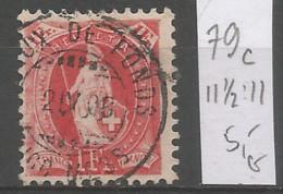 Switzerland 1905 Year , Used Stamp Mi # 79 C - Gebruikt