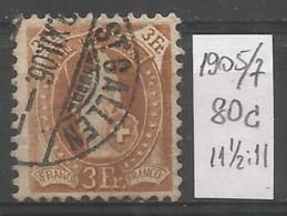 Switzerland 1905 Year , Used Stamp Mi # 80 C - Gebruikt