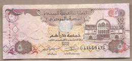 Emirati Arabi Uniti - Banconota Circolata Da 5 Dirhams P-26d - 2017 - United Arab Emirates