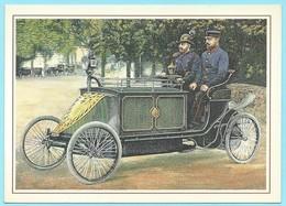 0573 - POST - TRANSPORT - MOTORPOSTWAGEN BERLIN 1900 - Post