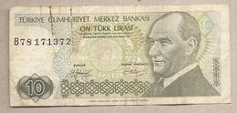 Turchia - Banconota Circolata Da 10 Lire P-192a.1 - 1979 #18 - Turkije