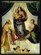 Bund 2012,Michel# Block 79 O 500 Jahre  Sixtinische Madonna - [7] Federal Republic