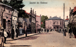 ODOBESTI / VRANCEA : SALUTARI DIN ODOBESCI ~ 1905 - '907 - RRR ! (ad914) - Romania