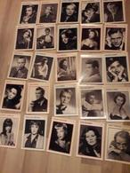 52 Photos Fiches D'Acteurs De Cinema : Lino VENTURA,Grace KELLY,ARLETTY,Claudia CARDINALE,Louis JOUVET,.......... - Acteurs