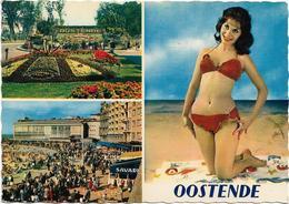 Oostende  *  Groeten Uit Oostende   (CPM)  Multiview - Pin-up - Oostende