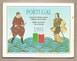 Portogallo - Brillant Uncirculated 7 Coins Collection - 1993 - Portogallo