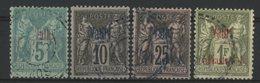 VATHY / BUREAU FRANCAIS Cote 116 € N° 1 + 5 + 8 + 9. TB - Vathy (1893-1914)