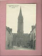 CPA -  Questembert -( Morbihan ) - Eglise - Vue Prise Du Marchix - Questembert