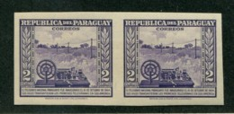 PARAGUAY RARE VARIETY IMPERFORATED TELEGRAPH  MINT STAMPS    37843 150120C - Paraguay