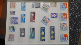 B378 Collection Timbres Et Blocs Oblitérés. Thématique L'espace. A Saisir !!! - Stamps