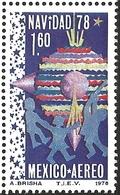 J) 1978 MEXICO, CHRISTMAS 1978, CHILDREN CHRISTMAS DECORATIONS, SCOTT C588, MN - Mexico
