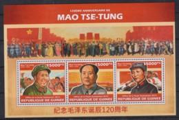 K961. Guinea - MNH - 2013 - Famous People - Mao Tse-Tung - Other