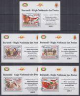 K740. Burundi - MNH - Famous People - Diplomacy - Deluxe - Other