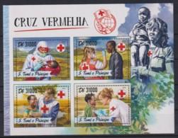 J743. Sao Tome And Principe - MNH - 2016 - Organizations - Red Cross - Organizations
