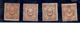 TURKEY1865-9:ISFILA30-1mnh**,32-3mh* - 1858-1921 Ottoman Empire