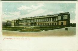 MUNCHEN - ALTE PINAKOTHEK - SUDSEITE - EDIT LUIS GLASER - MAILED BY GIUSEPPE PARATORE ( PALERMO )  1900s ( BG7651) - Muenchen