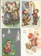 CPSM ,Thème Fête ,Fantaisie Lot 2 De 50 Cartes Ed. 1950 -1990 - Fêtes - Voeux