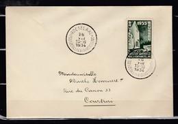 Brief Van Roeselare Naar Courtrai - Belgique