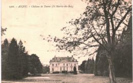 Anjou  Château De Danne St-Martin-du-Bois - France