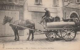 CPA - Le Torpilleur Des Rues (ramassage Des Tinettes) Toulon - Métiers