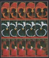A962. 5x Ajman - MNH - Nature - Flowers - Végétaux