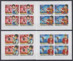 A741. Burundi - MNH - Sports - Ping Pong - Imperf - Stamps