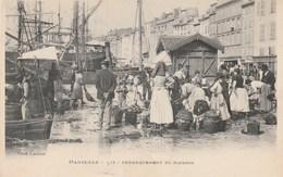 CPA - Débarquement Du Poisson - Au Vieux Port - Marseille - Pêche
