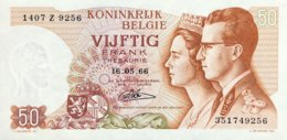 Belgium 50 Francs, P-139 (16.5.1966) - UNC - [ 2] 1831-...: Belg. Königreich