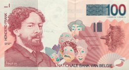 Belgium 100 Francs, P-147 (1995) - UNC - Sign. 5+15 - [ 2] 1831-... : Reino De Bélgica
